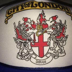 city of London Hat vtg Capital England UK uk Cap !